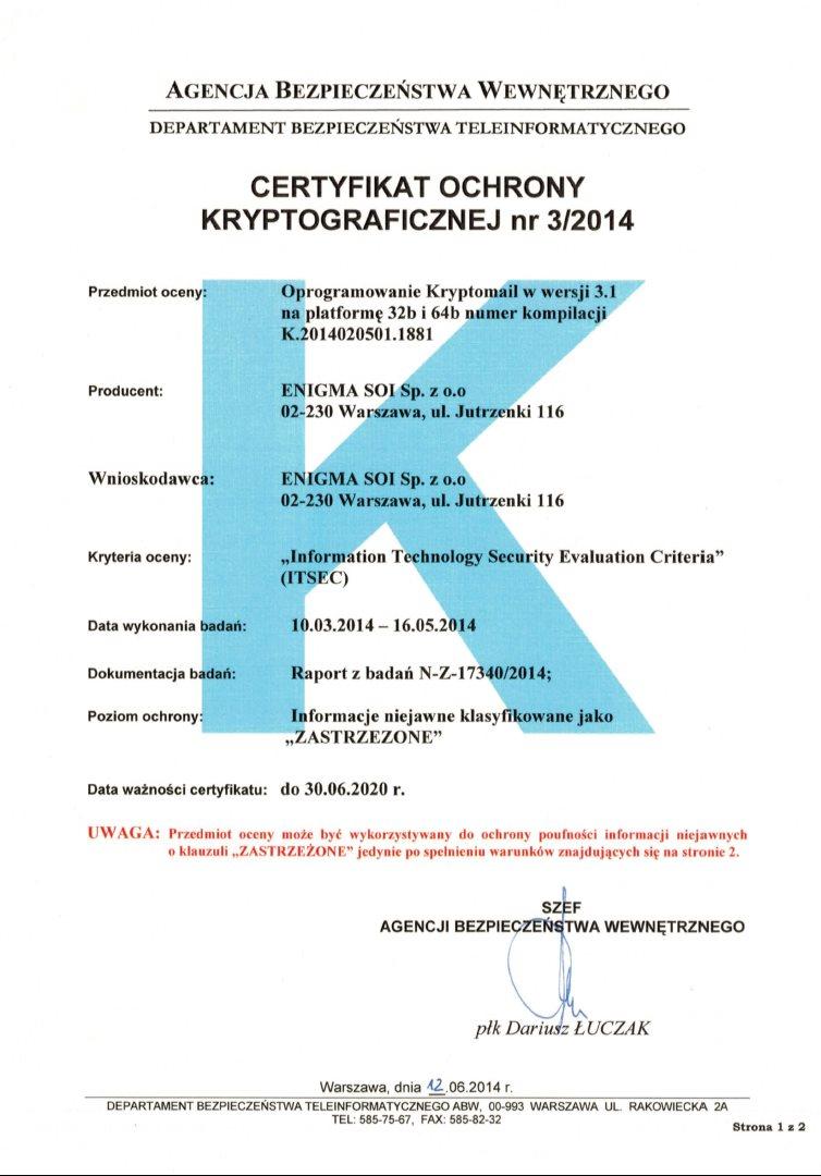 2014-06-12_Kryptomail_Certyfikat 3_2014