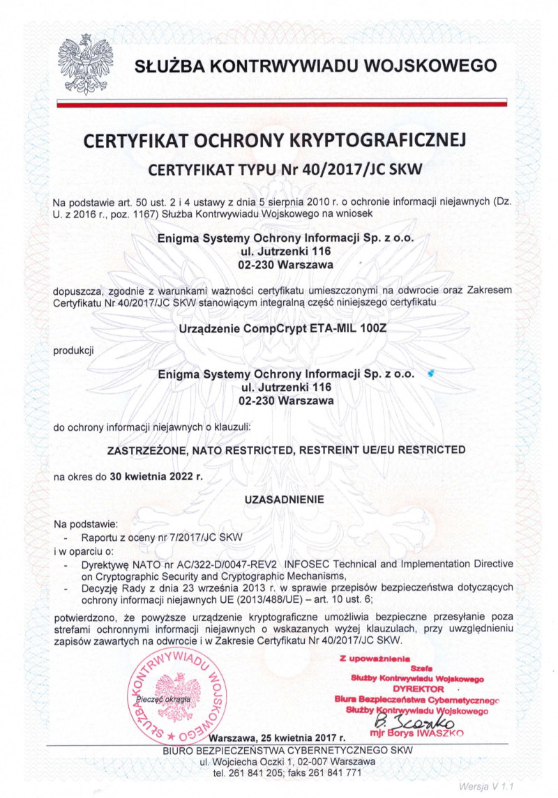 eta-mil_100z-certyfikat
