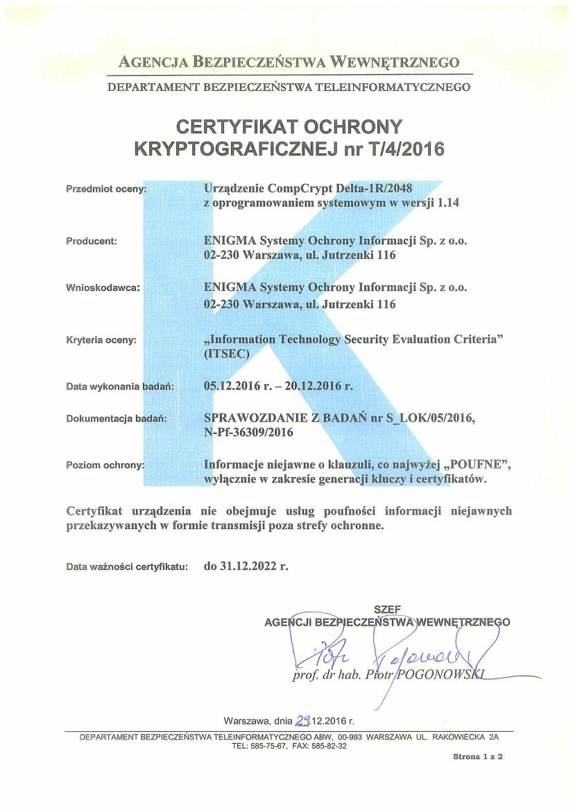 delta-2016-12-29_delta-1_certyfikat-ochrony-kryptograficznej_t_4_2016