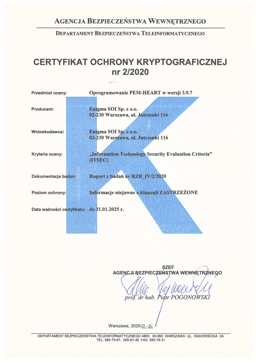 pem-heart-certyfikat